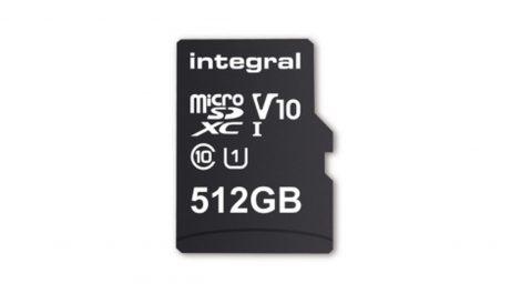 Integral microSDXC 512GB home