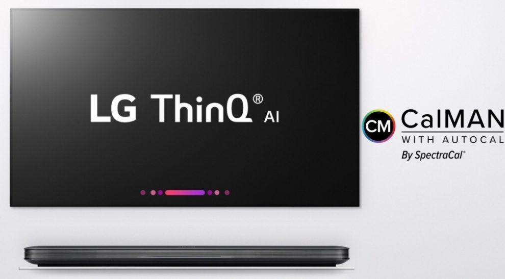 CES 2018 - Autocalibrazione CalMAN sui nuovi TV LG