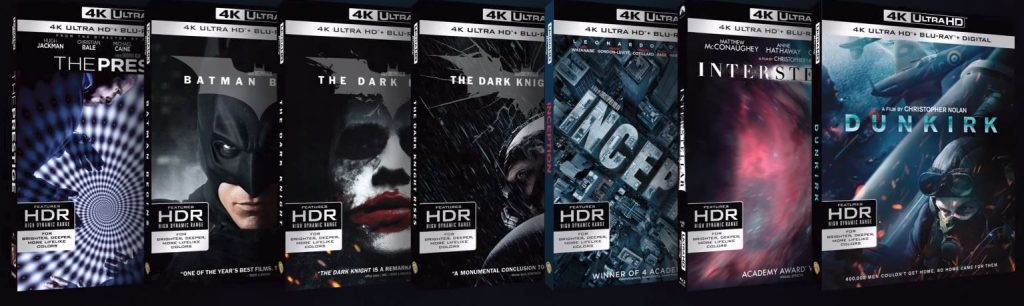 Christopher Nolan Collection 4K