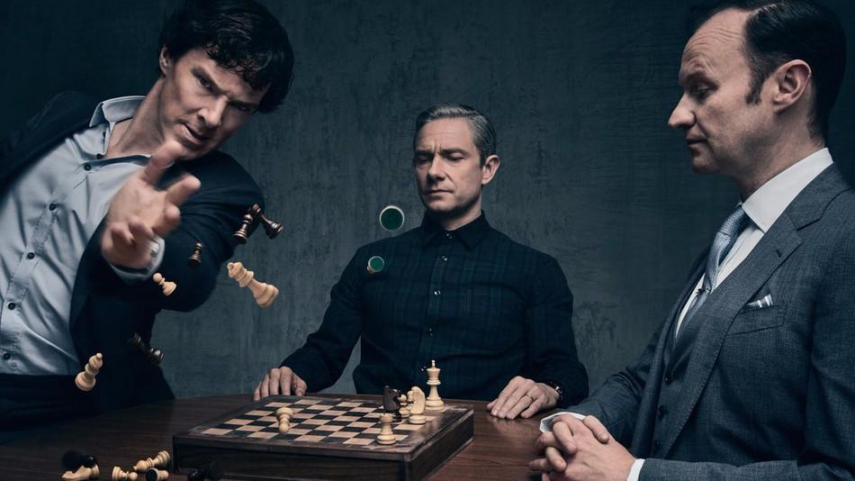 Sherlock - Stagione 4 [Blu-ray]