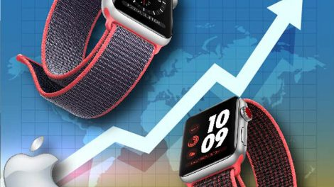 Grafico Apple Watch