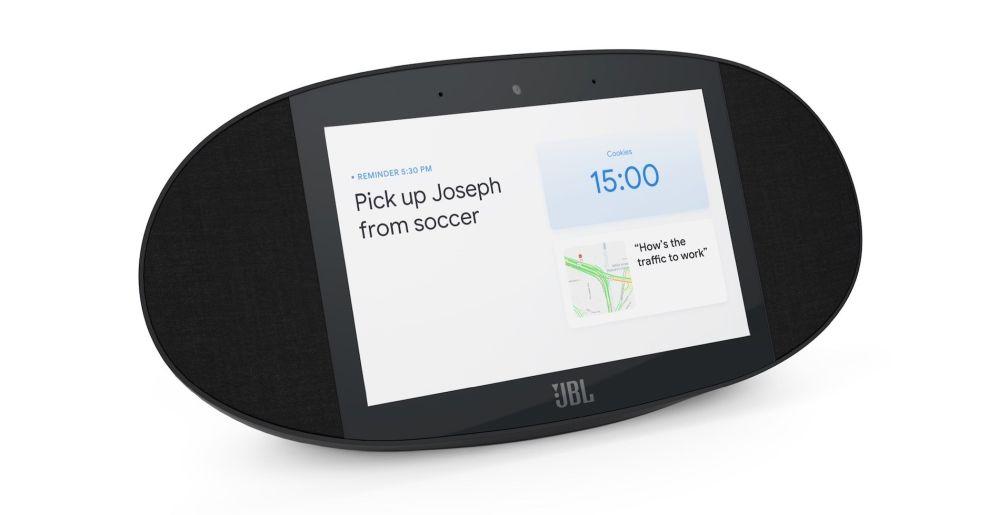 JBL Link View, arriva l'alternativa a Google Home con display integrato