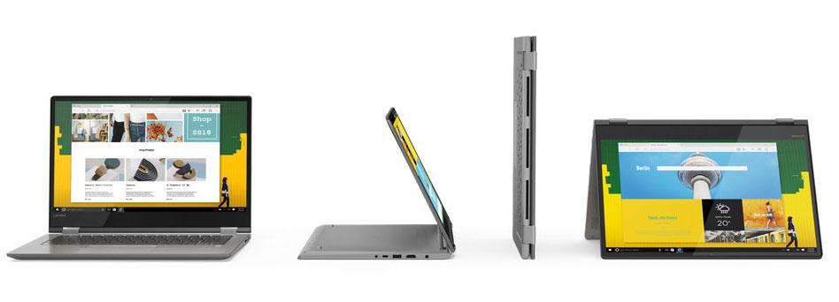 Lenovo Yoga 730 e 530, convertibili next gen