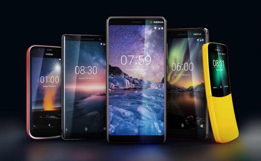 Nokia phones family