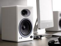 audioengine A5+ bianco
