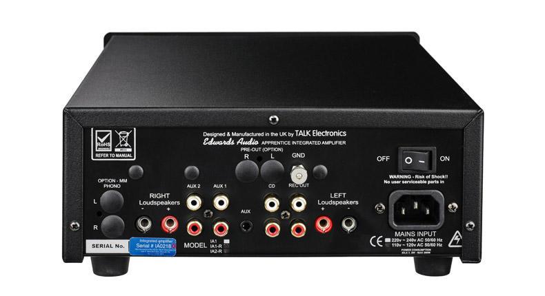 Edwards Audio IA1 Mk2: l'ampli integrato che bada al sodo