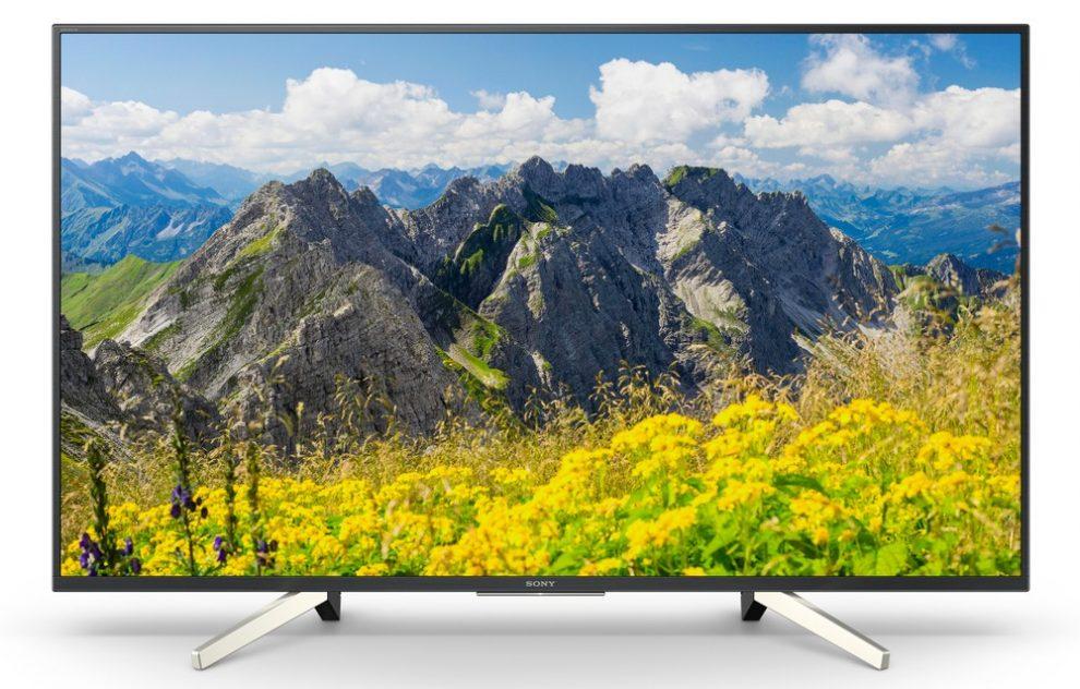 XF75, WF66 e RF45: Sony svela tre nuove serie di TV per il 2018