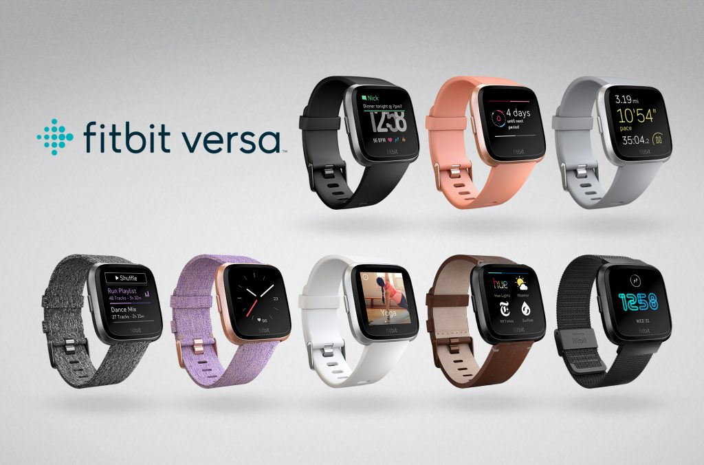 Fitbit Versa Family Lineup