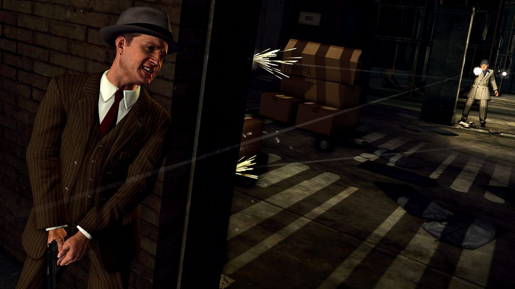 L.A. Noire Remastered Edition 4K - Home Theater Test PS4 Pro