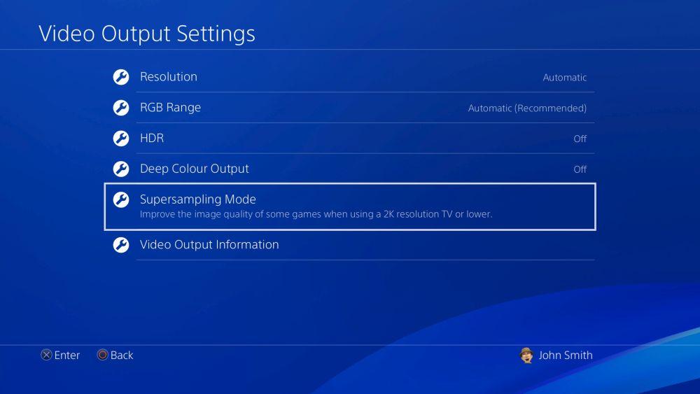 Sony PS4, arriva l'aggiornamento 5.50 con la nuova funzione supersampling