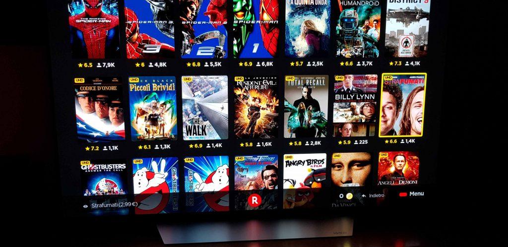 Servizi streaming: c'è sempre più voglia di contenuti in 4K