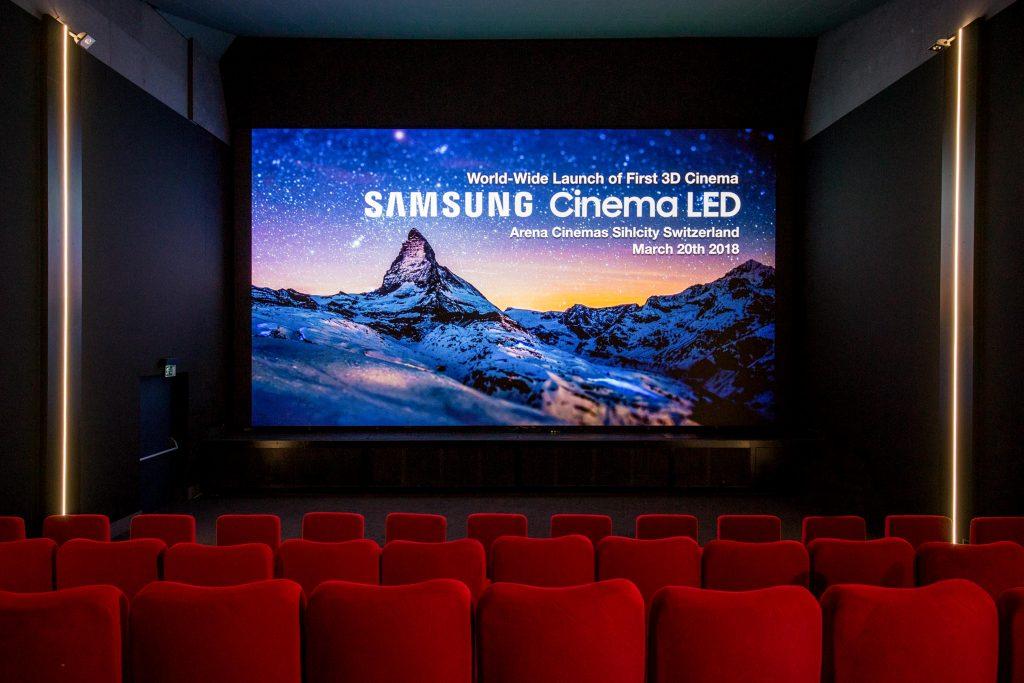 Addio proiettori: Samsung lancia in Europa l'era del Cinema LED
