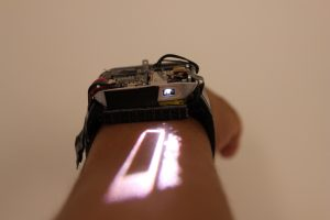 Lumiwatch – Touchscreen 'da braccio'