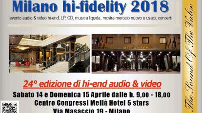 Milano Hi Fidelity 2018
