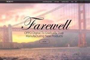 OPPO Digital addio - Il prestigioso marchio AV ha annunciato la chiusura definitiva