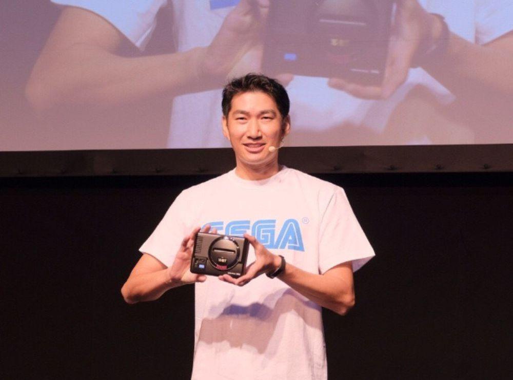 SEGA presenta la console Mega Drive Mini in Giappone