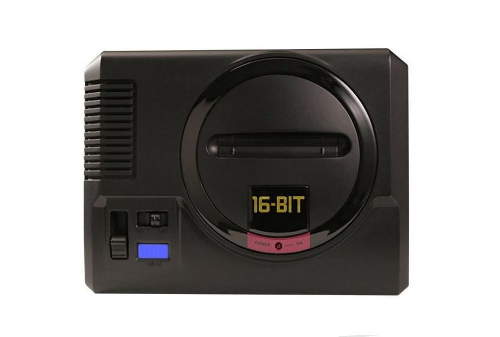 Sega Mega Drive Mini home