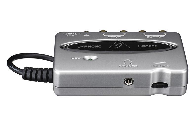 Behringer U-Phono UFO202: da vinile a PC con soli 30 euro