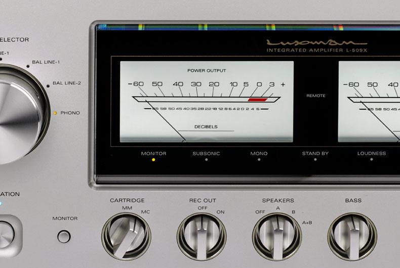 Luxman L-509X: l'integrato hi-end a un passo dalla perfezione