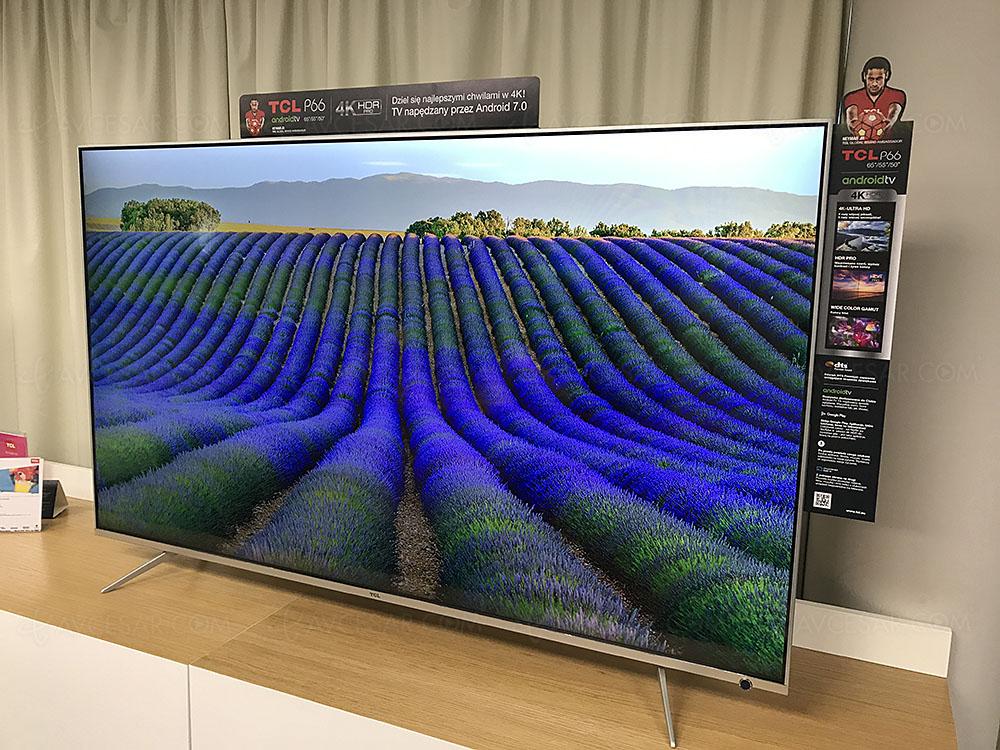 TCL P66: tre modelli per la nuova gamma di TV 4K-HDR dal prezzo budget
