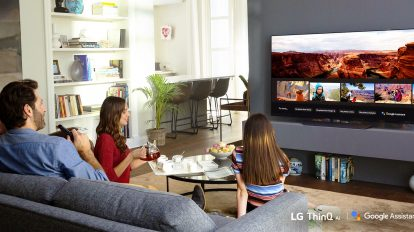 LG TV Google Assistant