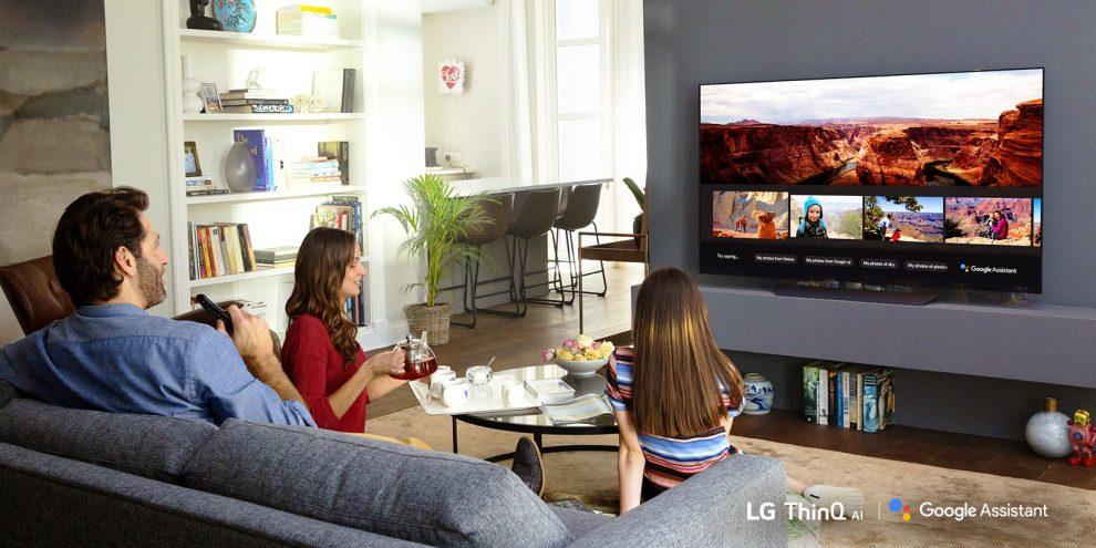 LG TV Google Assistant
