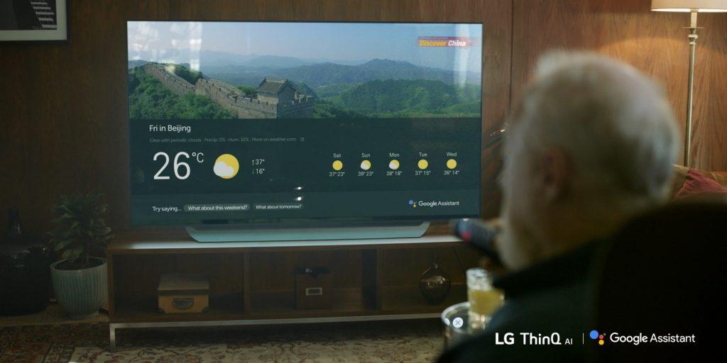 Con Google Assistant i TV di LG sono più intelligenti