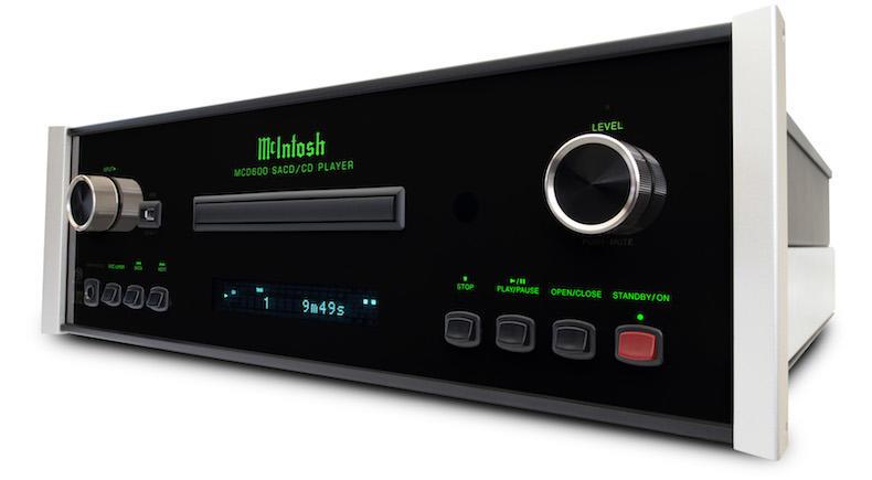 McIntosh: arrivano il lettore CD/SACD MCD600 e lo streamer MS500