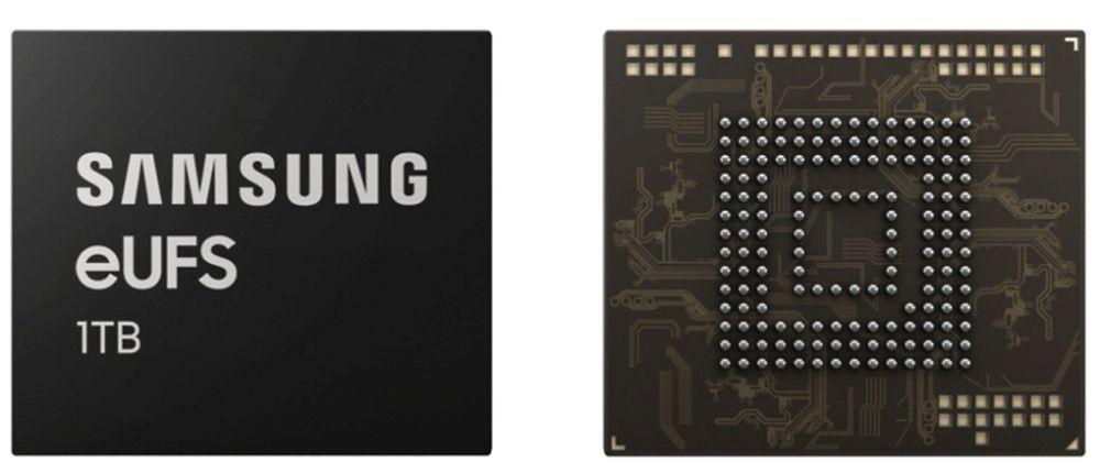 Samsung lancia un chip di memoria eUFS da 1 TB