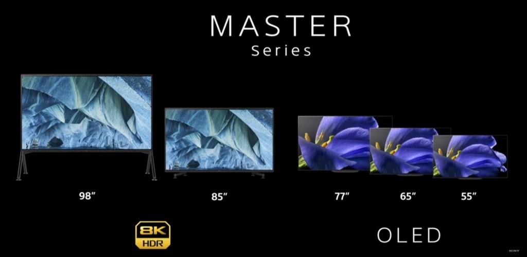 CES 2019: Sony show e nuovi tv Master series AG9 e ZG9