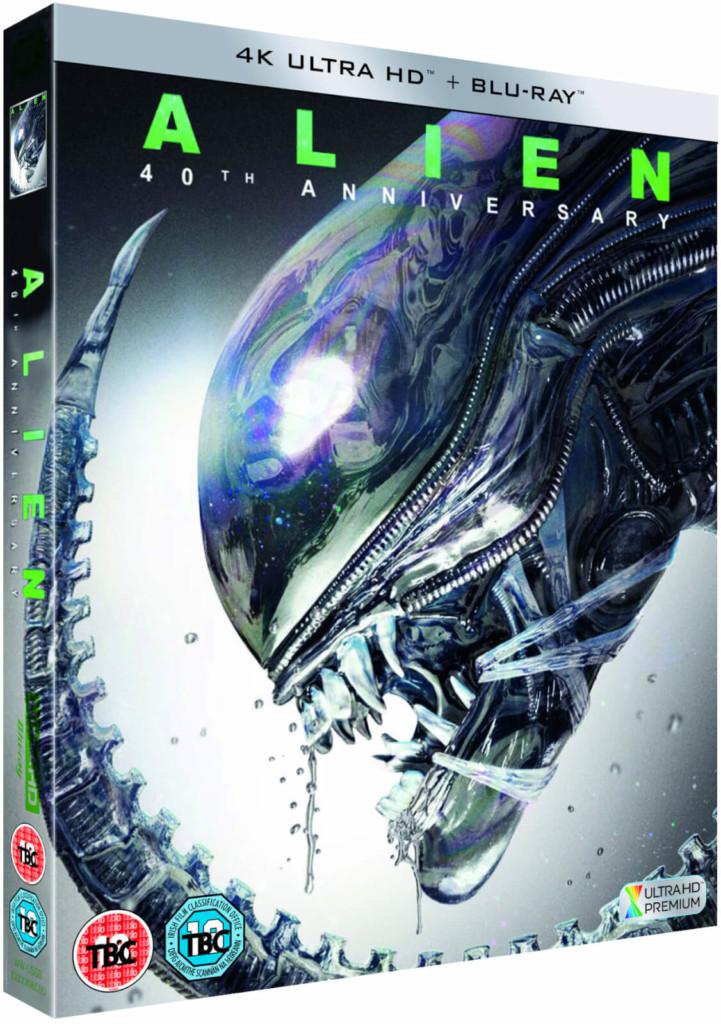 Alien arriva in Ultra HD Blu-ray con tanto di HDR10+