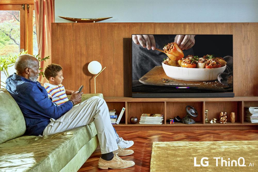 TV LG 2019: arrivano l'OLED 8K e l'HDMI 2.1