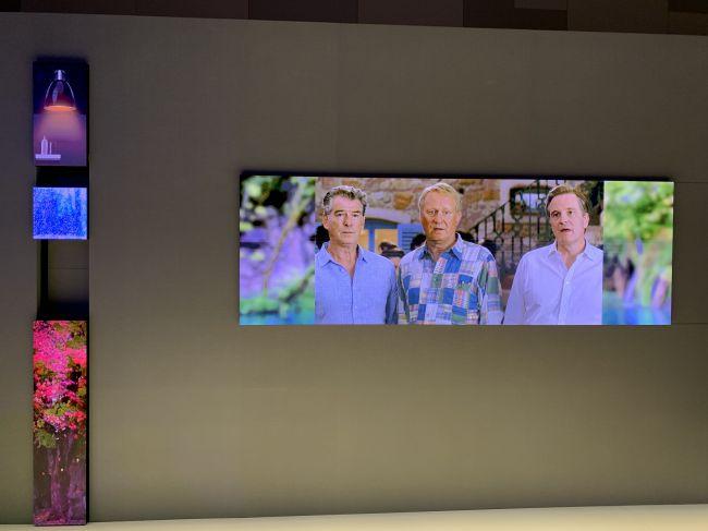 CES 2019: a tu per tu con il TV Micro LED Samsung da 75''