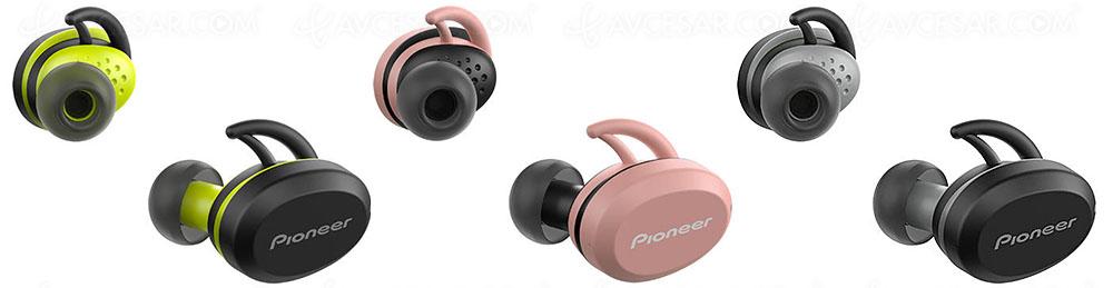Pioneer E8: gli auricolari total wireless per gli amanti dello sport