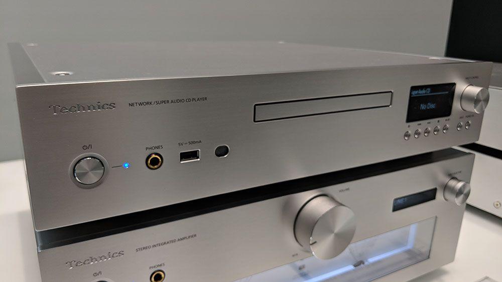 CES 2019: SACD e audio di rete per il raffinato Technics SL-G700