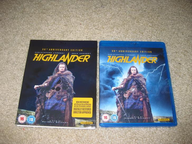 """Higlander [Blu-ray] """"il Collezionista"""""""