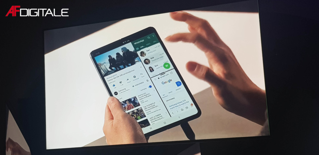 Il Galaxy Fold è disponibile, tranne che in Italia.