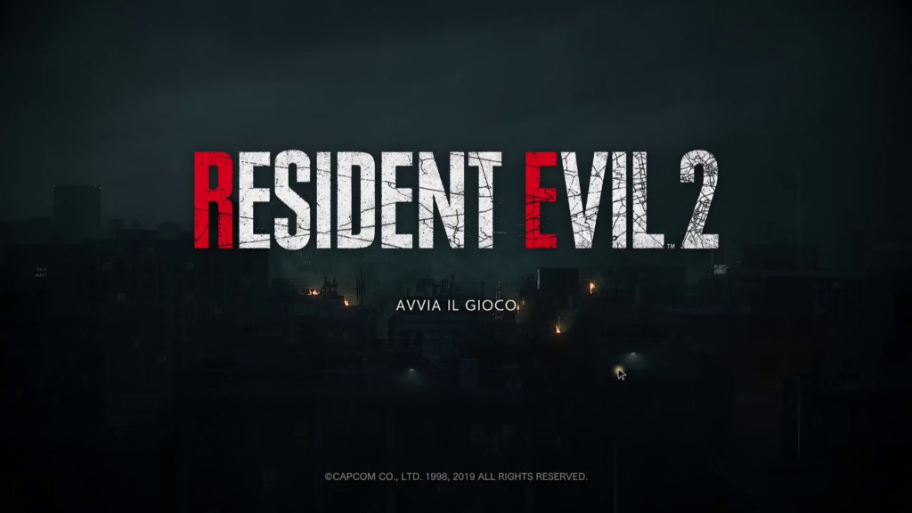 Resident Evil 2 Remake – Home Theater Test Xbox One X