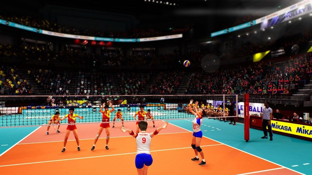 Spyke Volleyball – Home Theater Test PS4 Pro