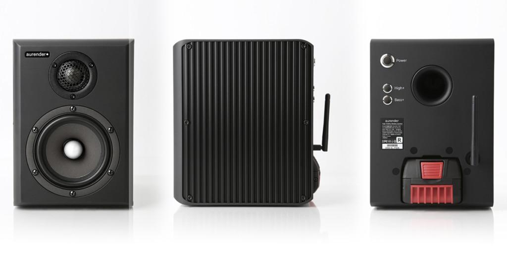 Aurender S5W: loro sì che sono davvero wireless