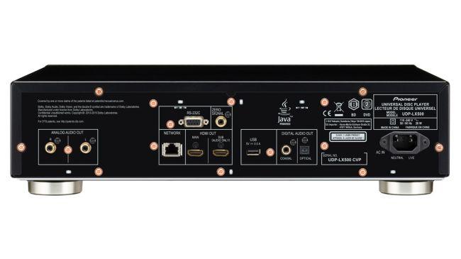 Pioneer UDP-LX500: lettore UHD universale da 10 e lode