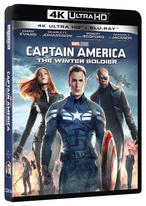 La trilogia di Captain America in UHD: i dati tecnici