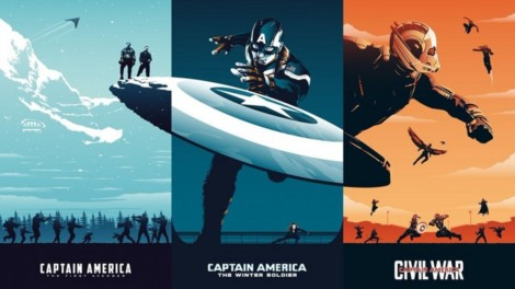 Captain America Trilogy UHD