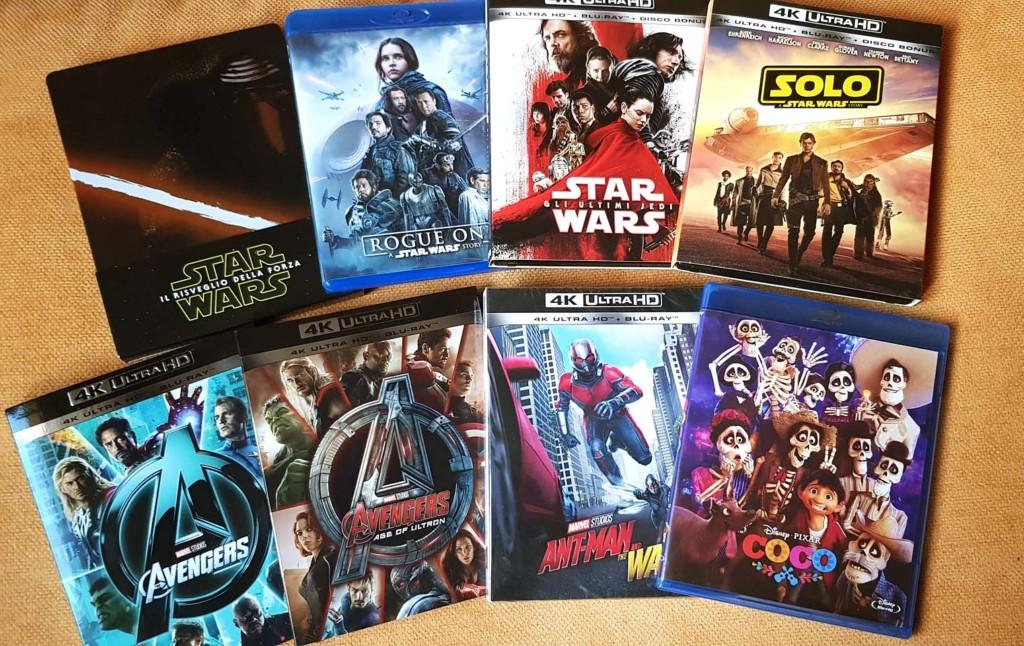 Edizioni Blu-ray e 4K italiane: il punto sulle Major