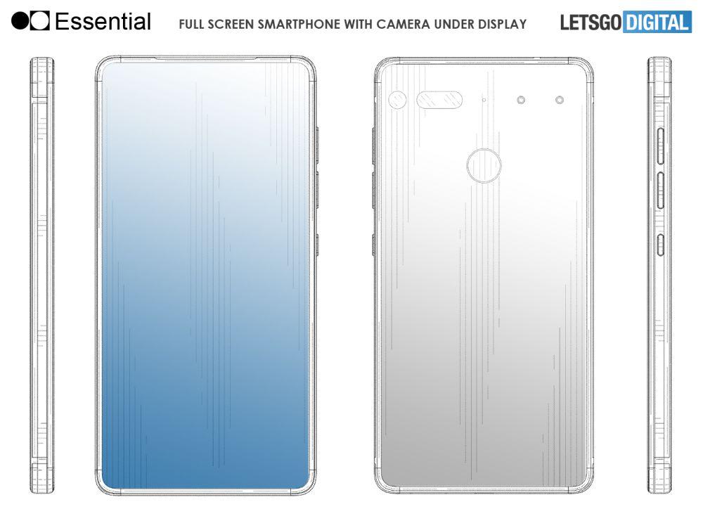 Essential PH-2 potrebbe avere una fotocamera sotto il display