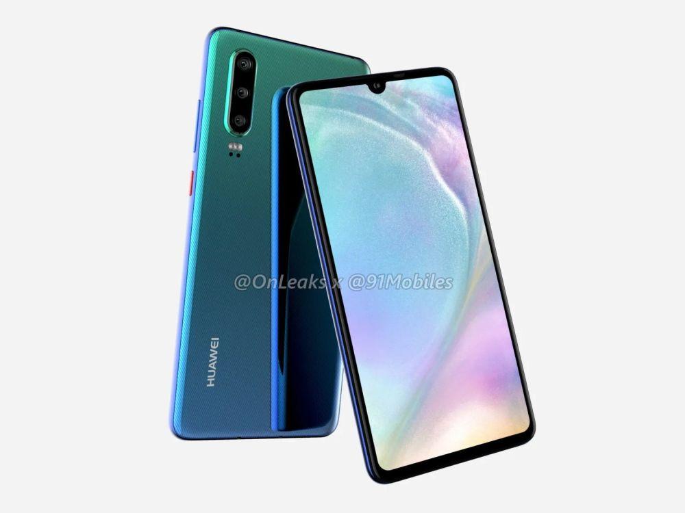 Huawei P30 e P30 Pro: svelati tutti i dettagli
