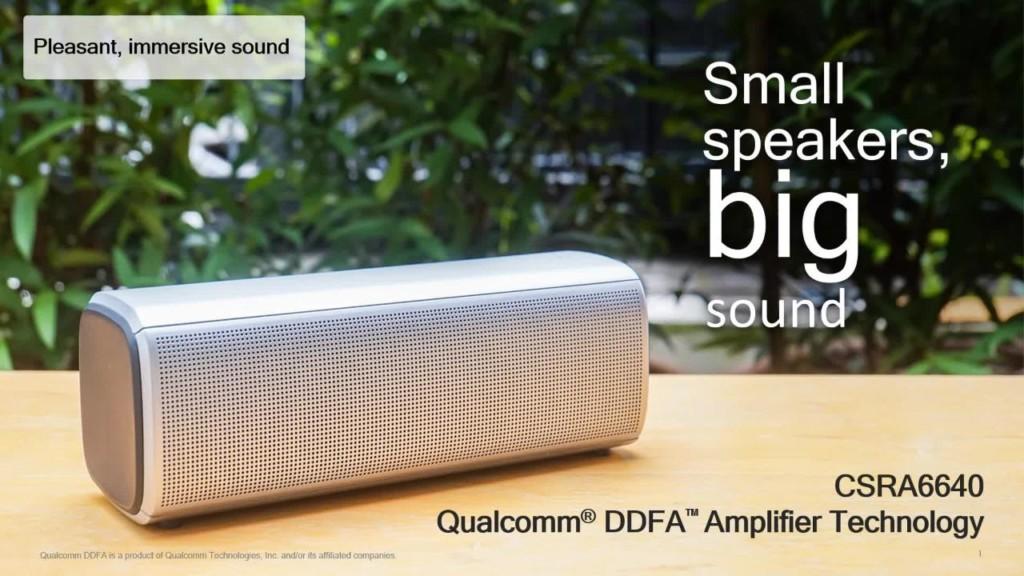 Qualcomm: nuovo chip per migliorare gli speaker wireless…e non solo
