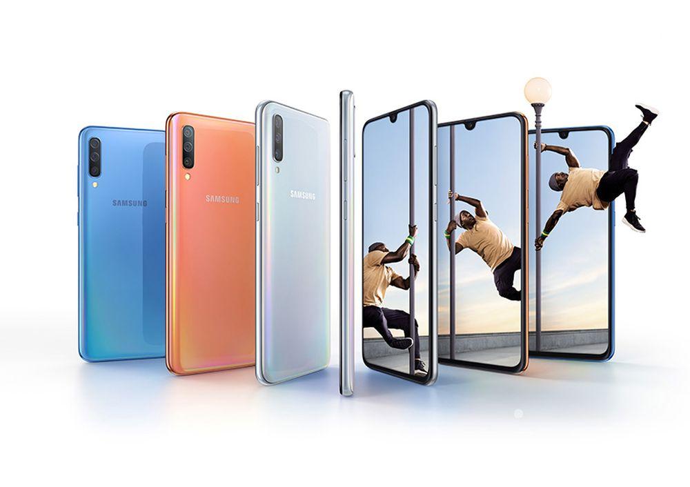 Galaxy A70: in arrivo il più grande smartphone Samsung