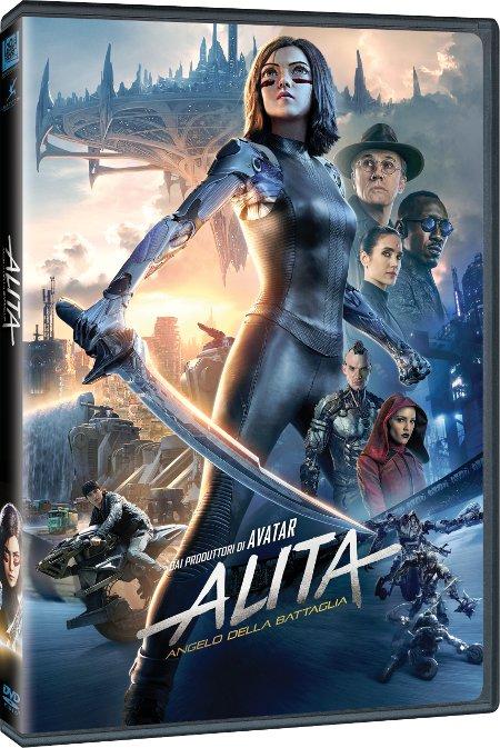 Alita - Angelo della battaglia: i dati delle edizioni Home Video