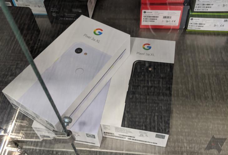 Le prime immagini dei Google Pixel 3a e 3a XL